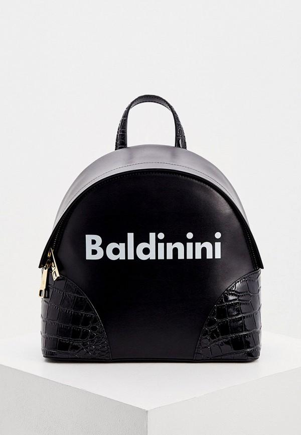 женский рюкзак baldinini, черный