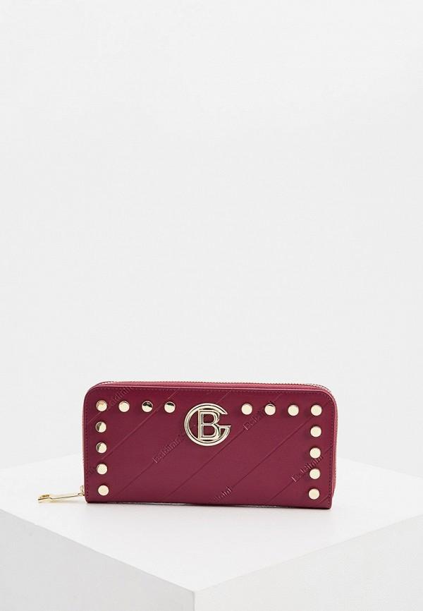 женский кошелёк baldinini, фиолетовый