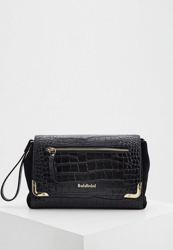 женская сумка baldinini, черная