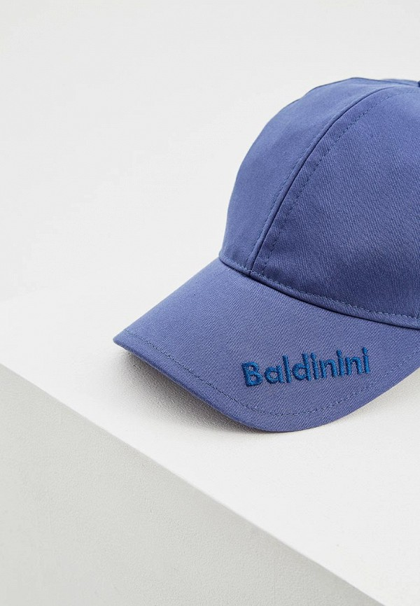 Фото 3 - мужскую бейсболку Baldinini синего цвета
