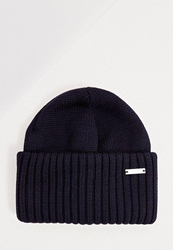 мужская шапка baldinini, синяя