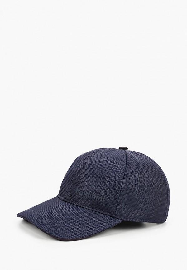 мужская бейсболка baldinini, синяя