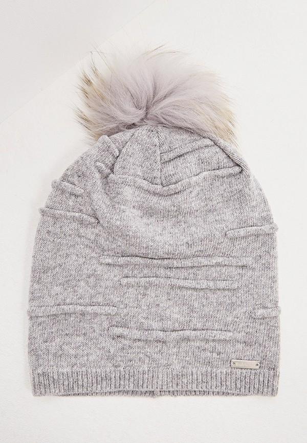 женская шапка baldinini, серая