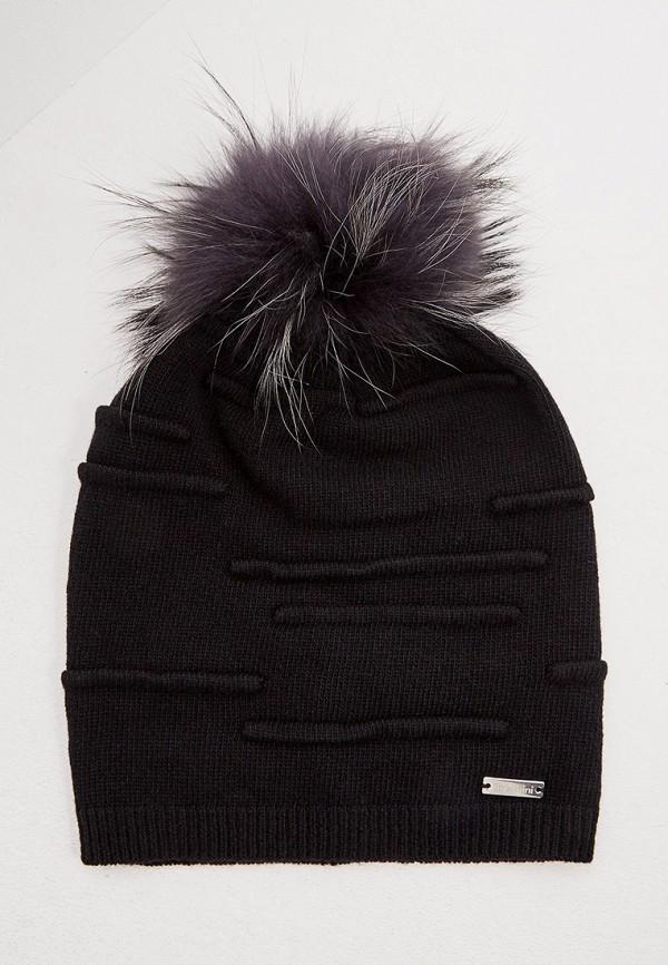 женская шапка baldinini, черная