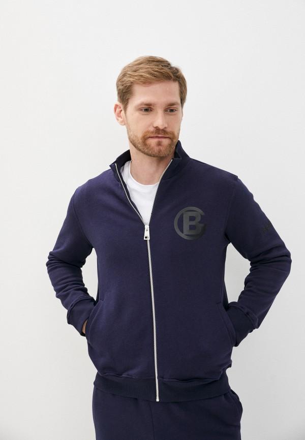 мужская олимпийка baldinini, синяя
