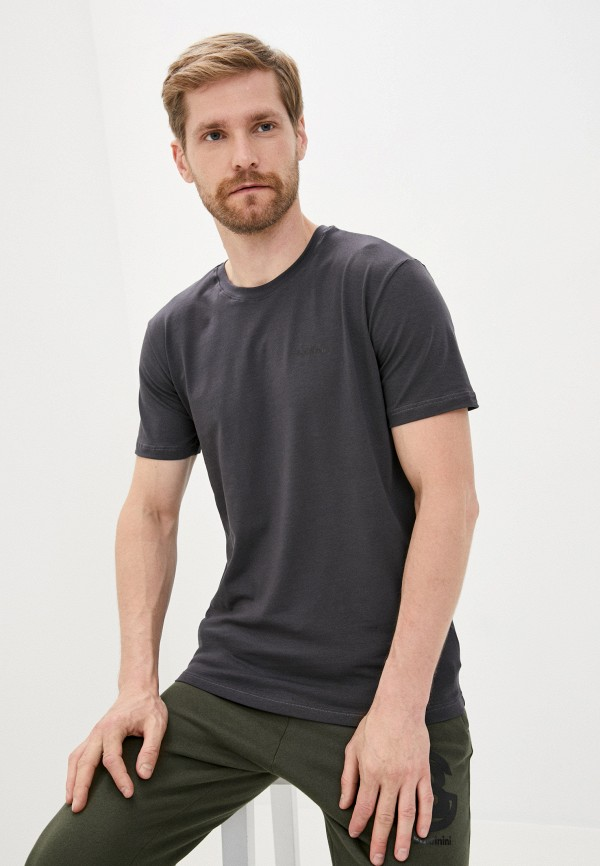 мужская футболка baldinini, серая
