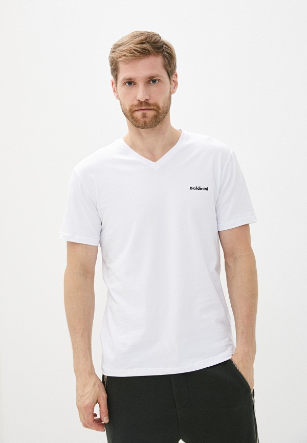 мужская футболка baldinini, белая