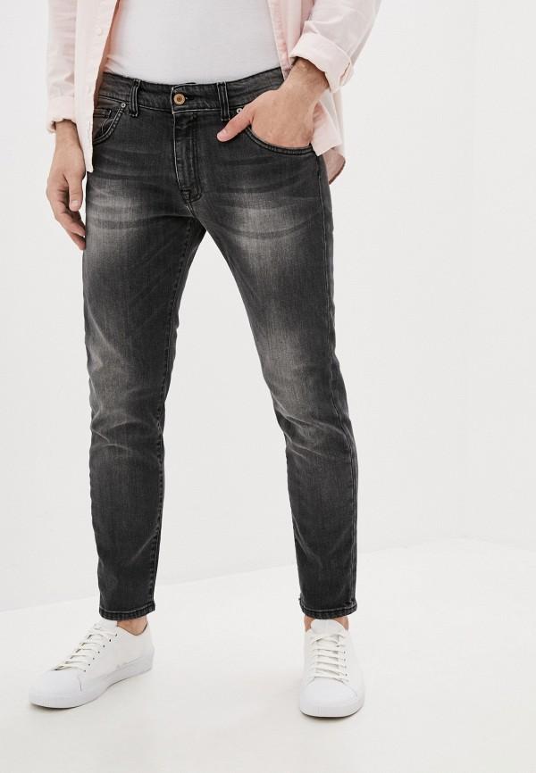 мужские зауженные джинсы baldinini, серые