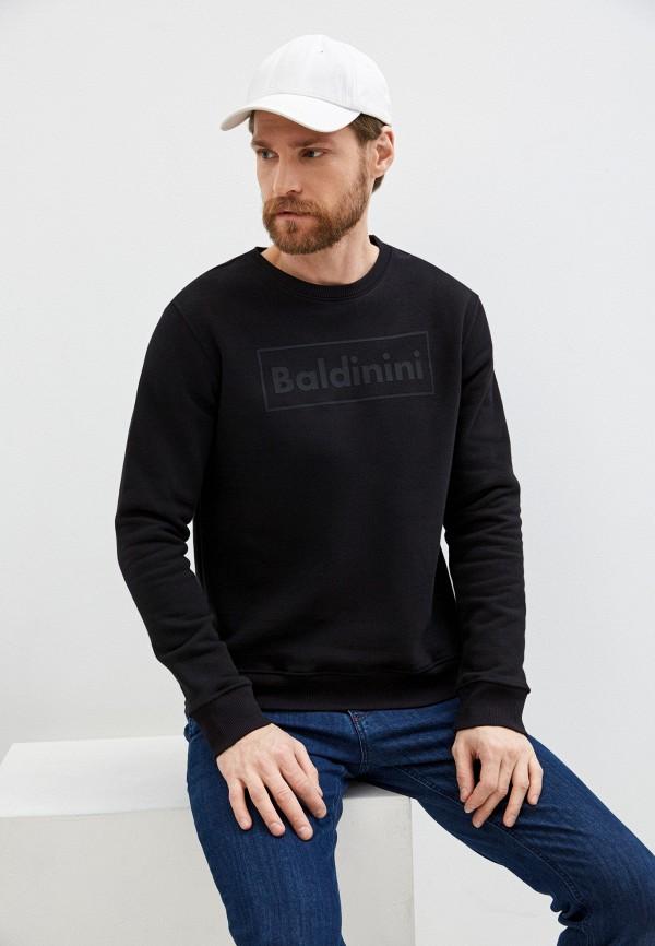мужской свитшот baldinini, черный