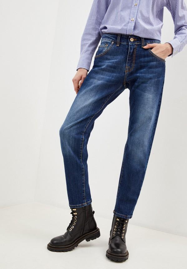 мужские зауженные джинсы baldinini, синие
