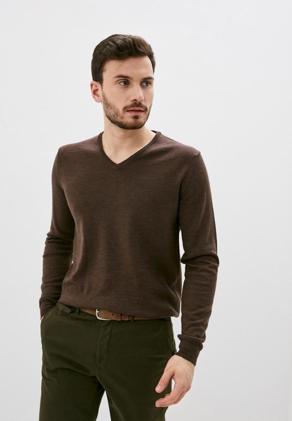 мужской пуловер baldinini, коричневый