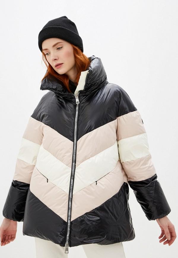 женская утепленные куртка baldinini, разноцветная