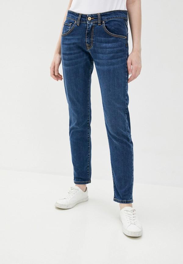 женские джинсы скинни baldinini, синие