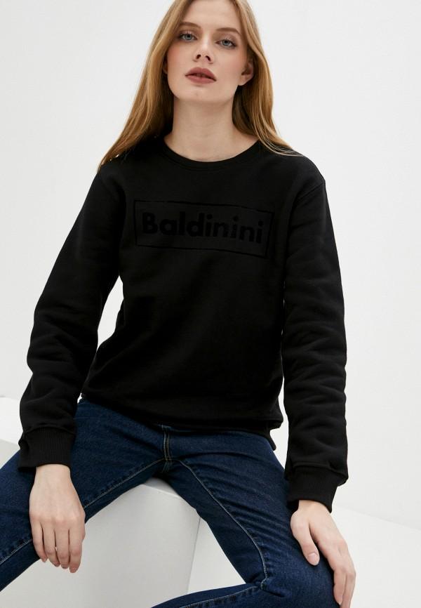 женский свитшот baldinini, черный