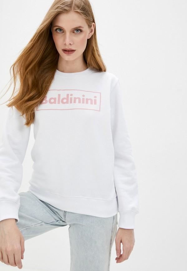 женский свитшот baldinini, белый