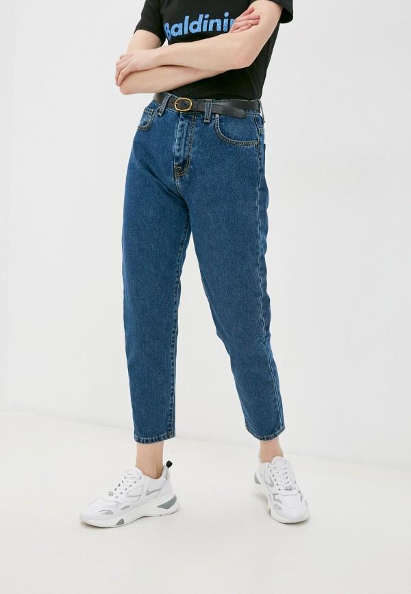 женские джинсы бойфренд baldinini, синие