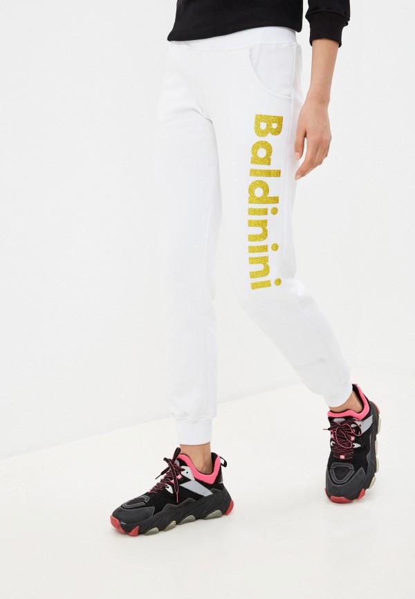 женские спортивные брюки baldinini, белые