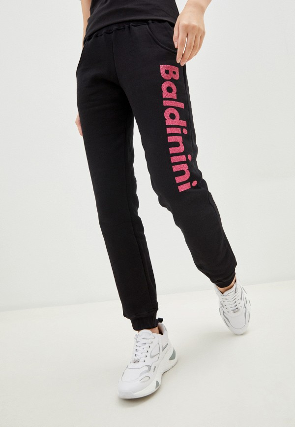 женские спортивные брюки baldinini, черные