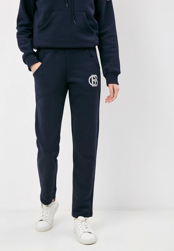 женские спортивные брюки baldinini, синие