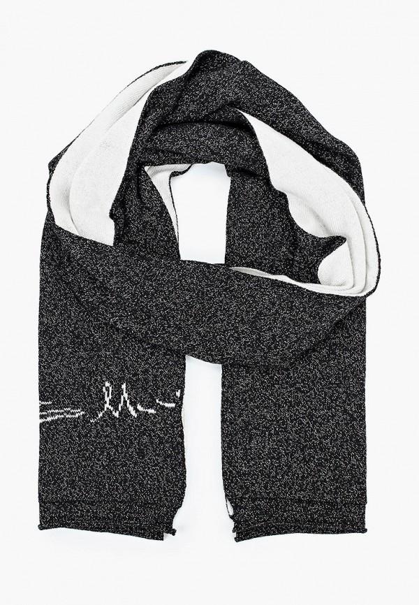 женский шарф baldinini, черный