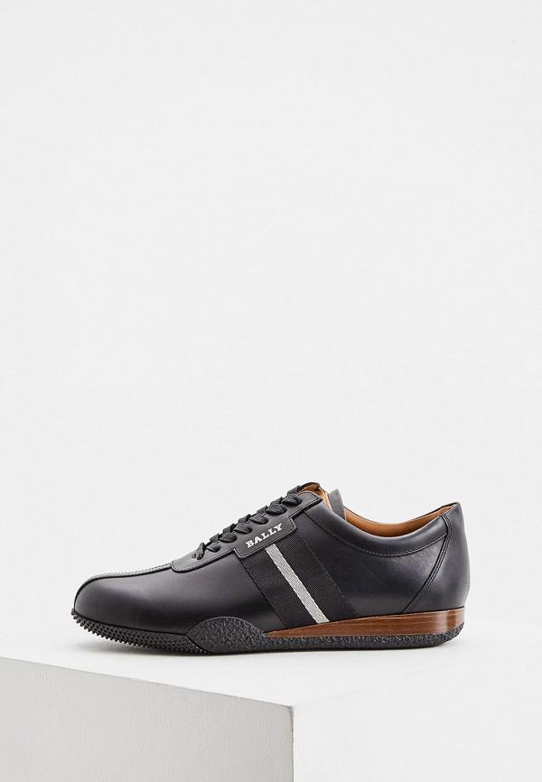 мужские низкие кроссовки bally, синие