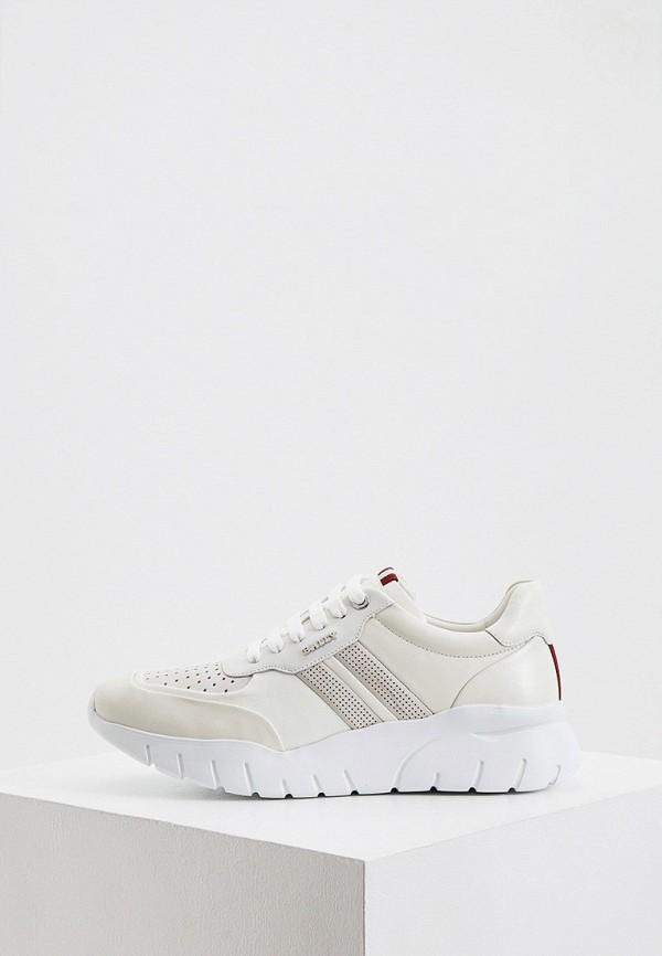 мужские кроссовки bally, белые