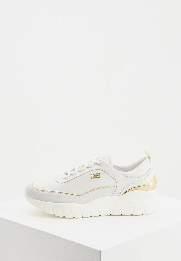 женские кроссовки bally, белые