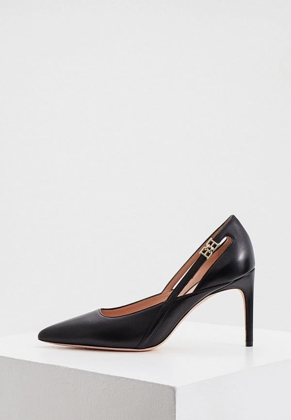 женские туфли bally, черные
