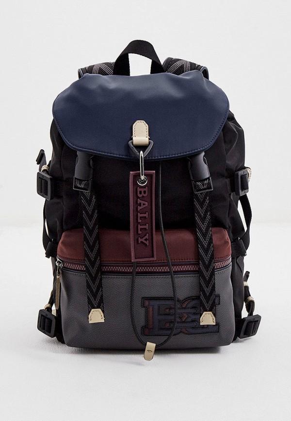 мужской рюкзак bally, разноцветный