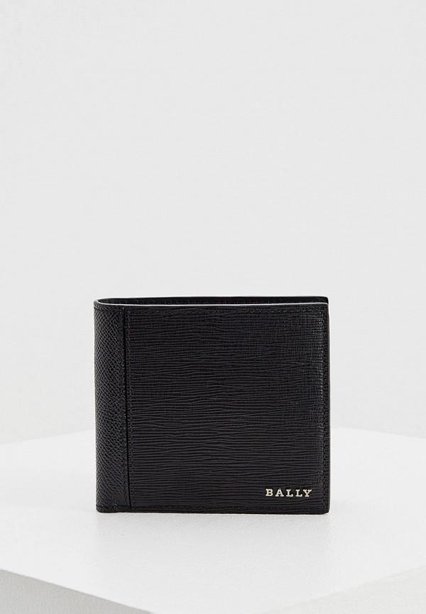мужской кошелёк bally, черный