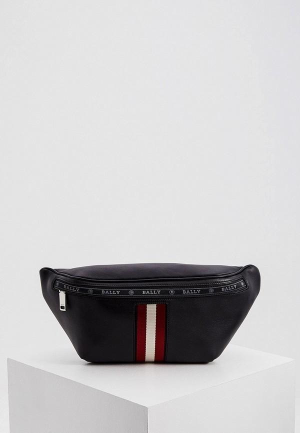 мужская сумка bally, черная