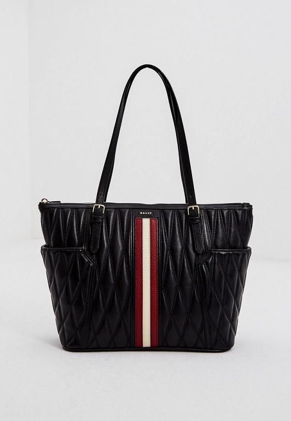 женская сумка bally, черная