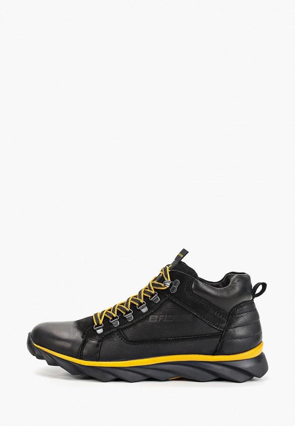 мужские ботинки baden, черные