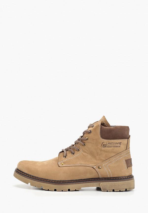 мужские ботинки baden, коричневые
