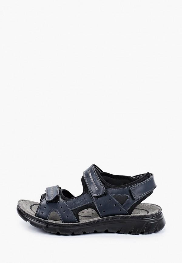 мужские сандалии baden, синие