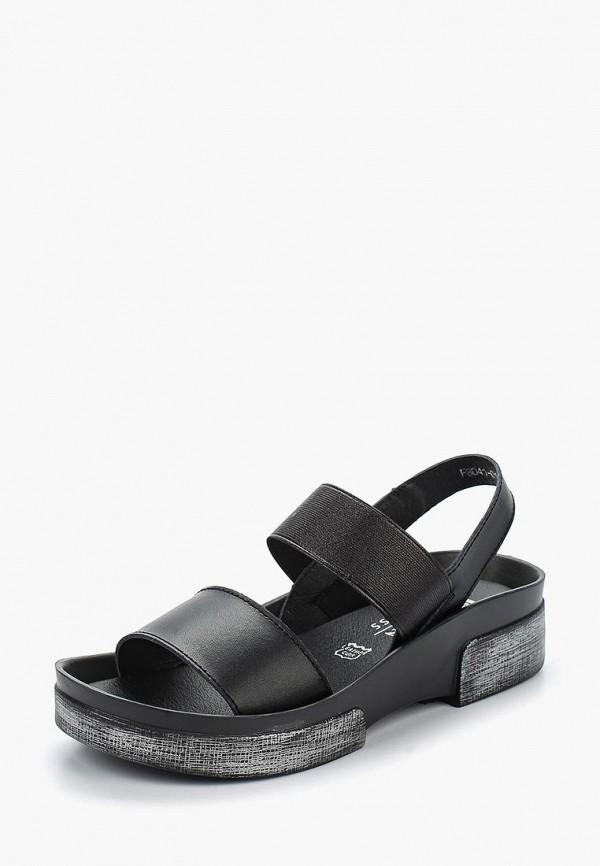 женские сандалии baden, черные