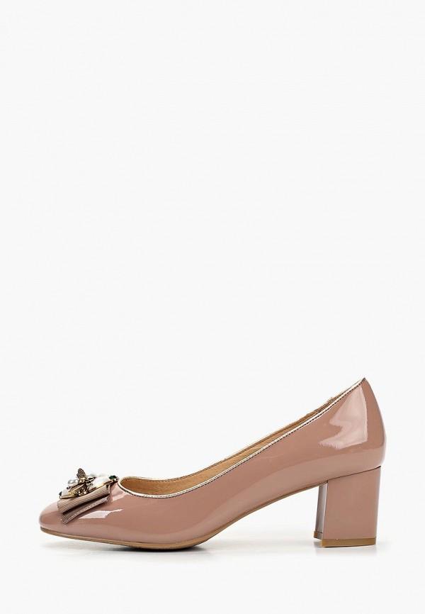 женские туфли baden, розовые