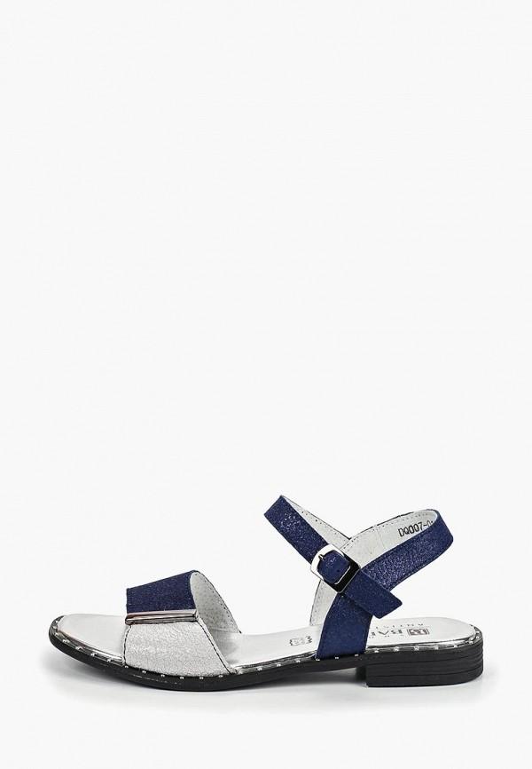 женские сандалии baden, синие
