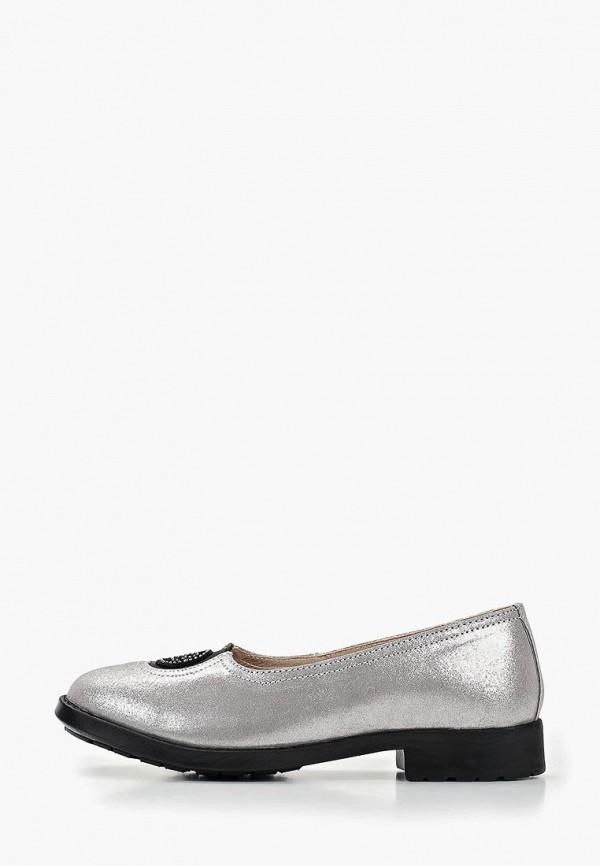 женские туфли baden, серые
