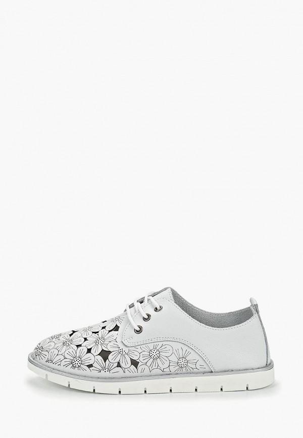 женские ботинки baden, белые