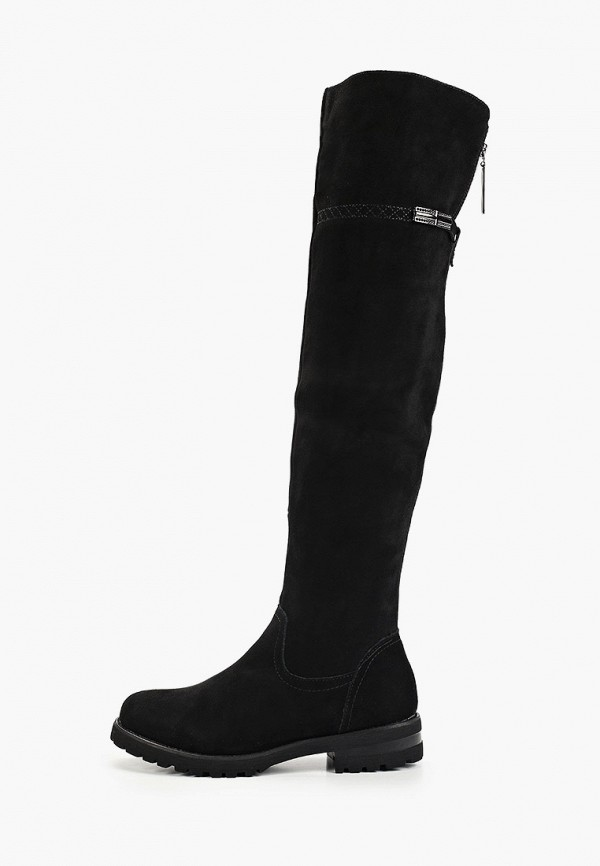 женские ботфорты baden, черные