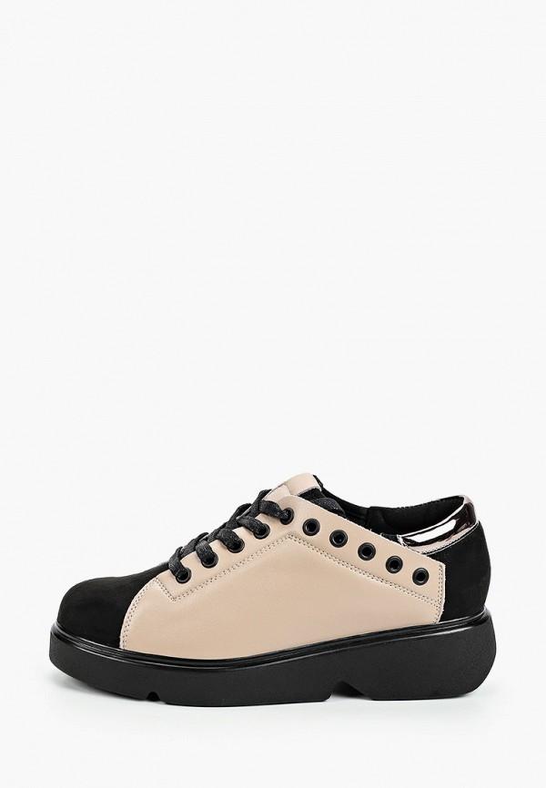 женские ботинки baden, бежевые
