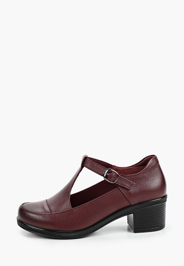 женские туфли baden, бордовые
