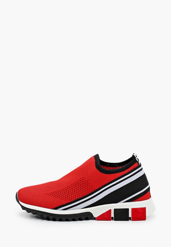 женские кроссовки baden, красные