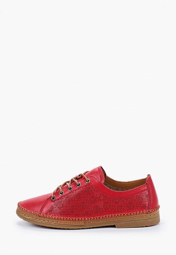 женские ботинки baden, красные