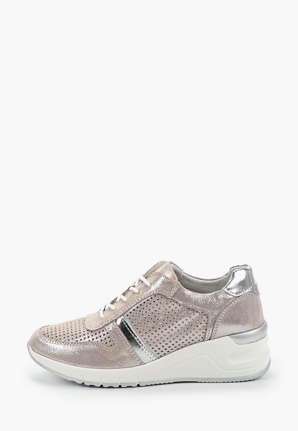 женские кроссовки baden, серебряные