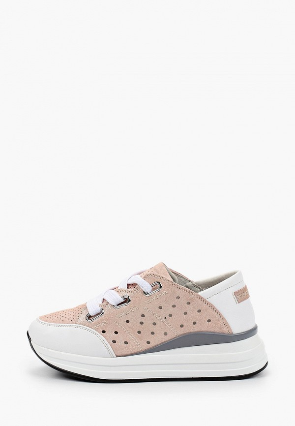 женские кроссовки baden, розовые