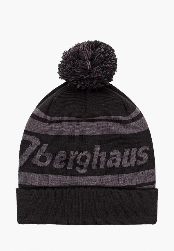 женская шапка berghaus, серая