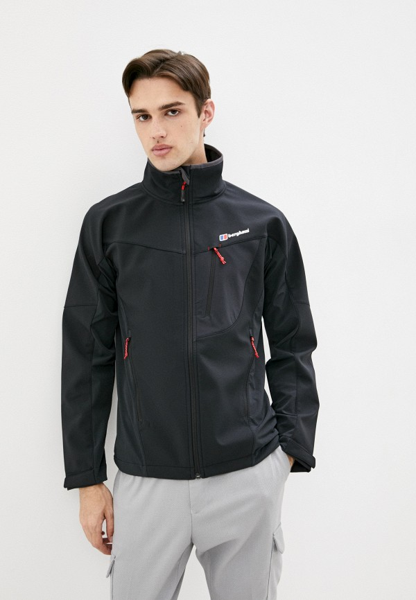 мужская куртка berghaus, черная