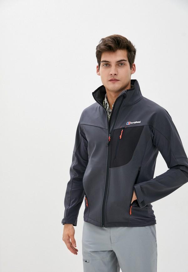 мужская куртка berghaus, серая